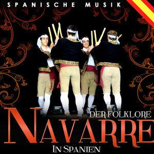 Spanische Musik. Der Folklore navarre in Spanien