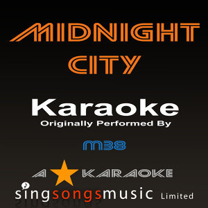 Midnight City (Originally Performed By M83) [Karaoke Audio Version]