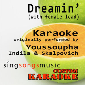 Dreamin' (with Female Lead) [Originally Performed By Youssoupha, Indila & Skalpovitch] [Karaoke Audio Version]