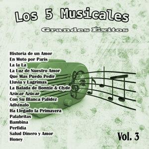 Grandes Éxitos: Los 5 Musicales Vol. 3