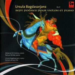 Bagdasarjanz: Sept poésies pour violon et piano – Mozart, Handel, Nardini & Paganini: Sonatas