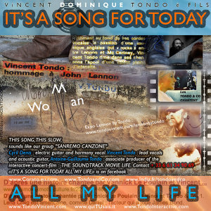 It's a Song for Today All My Life - Single