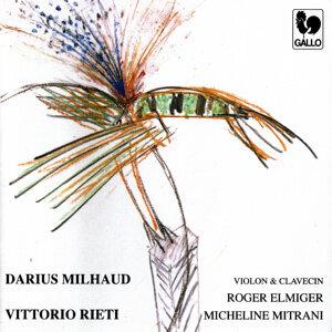 Darius Milhaud & Vittorio Rieti: Violin Sonatas