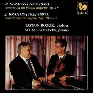 Strauss: Violin Sonata in B-Flat Major, Op. 18, TrV 151 - Brahms: Violin Sonata No. 1 in G Major, Op. 78
