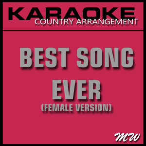Best Song Ever (Karaoke Instrumental Track) [In the Style of One Direction]