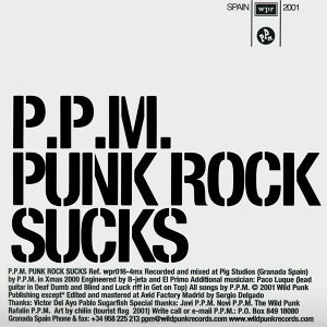 Punk Rock Sucks