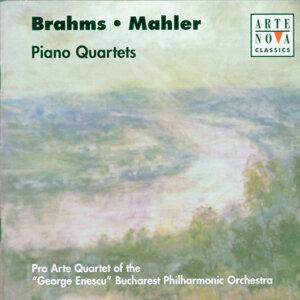 Brahms/Mahler: Piano Quartets