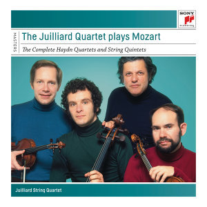 "The Juilliard Quartet plays Mozart  - The Complete ""Haydn"" Quartets and String Quintets"
