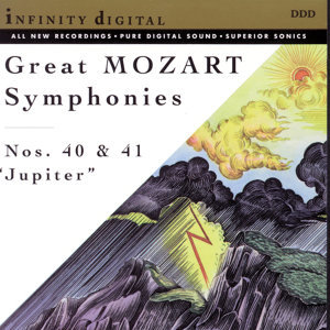 "Great Mozart Symphonies: No. 40; No. 41 ""Jupiter"""