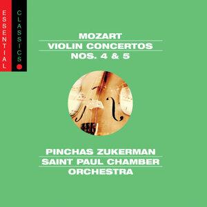 Mozart: Violin Concertos Nos. 4 & 5, Adagio, K. 261 & Rondo, K. 373