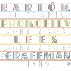 Lees: Sonata No. 4; Bartók: Suite for Piano, Op. 14 (Sz 62); Prokofiev: Sonata No. 2 in D Minor for Piano, Op. 14