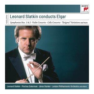 Leonard Slatkin Conducts Elgar
