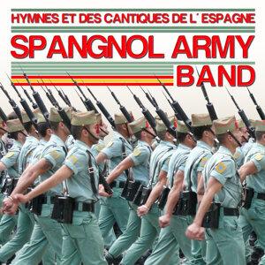 Hymnes et des Cantiques de l´Espagne. Espagnol Army Band