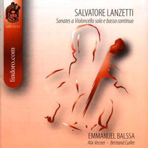 Salvatore Lanzetti: Sonates a Violoncello Solo e Basso Continuo
