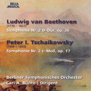 Beethoven: Symphonie No. 2, Op. 36 - Tschaikowsky: Symphonie No. 2, Op. 17