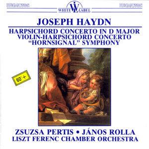 "Haydn: Harpsichord Concerto in D Major - Violin-Harpsichord Concerto - ""Hornsignal"" Symhony"
