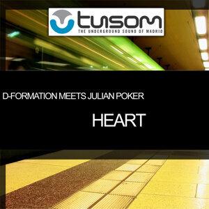 Heart (D-Formation Meets Julian Poker) - Single