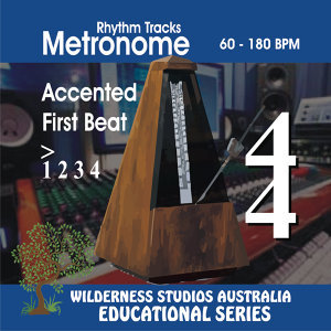Metronome 4/4 Time Accented 1st Beat