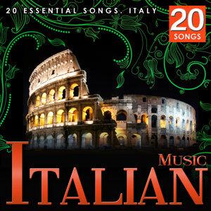 Chansons de l'Italie. Musique italienne traditionnelle