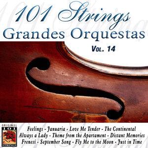 101 Strings Grandes Orquestas Vol. 14