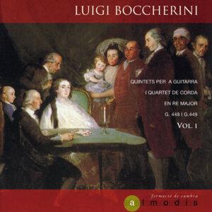 Luigi Boccherini: Quintets per a Guitarra i Quartet de Corda en Re Major, G.448 i G.449. Vol. 1