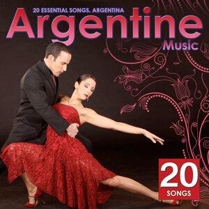 Chansons de Argentine. Argentine musique traditionnelle
