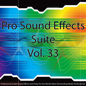 Pro Sound Effects Suite 33 - Cartoons, Magic, Toys, Sci-Fi