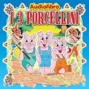 I tre porcellini - Favola raccontata con libretto e tavole da disegnare e colorare