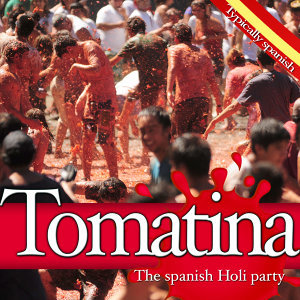 The Spanish Holi Party. Typically Spanish Tomatina