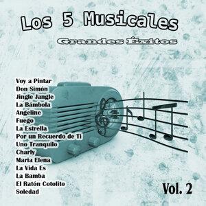 Grandes Éxitos: Los 5 Musicales Vol. 2