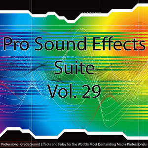 Pro Sound Effects Suite 29 - Metal, Rocks and Wood 3
