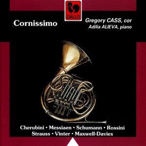 Cherubini - Messiaen - Schumann - Rossini - Strauss - Maxwell-Davies - Vinter: Cornissimo (Horn & Piano Works)