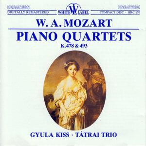 Piano Quartets K.478 & 493