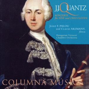 J.J. Quantz: Konzerte für Eine und Zwei Flöten