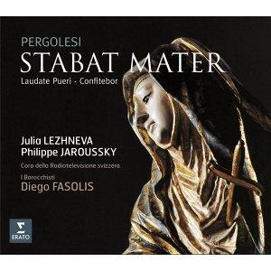 Pergolesi: Stabat Mater, Laudate pueri & Confitebor (裴高雷西:聖母悼歌、《僕人啊,要讚美主》、《讚美祢》)