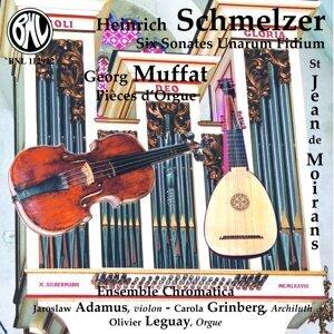 Six Sonates Unarum Fidium pour violon et basse, pièces d'orgue - 1664