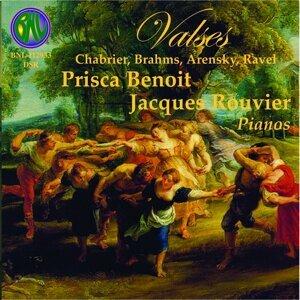 Chabrier & Brahms: Valses - Pièces pour deux pianos et piano à  mains