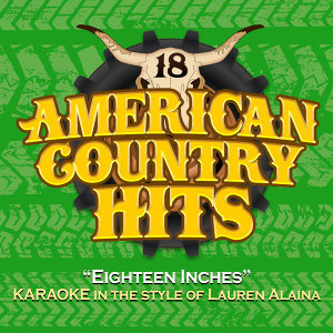 Eighteen Inches (Karaoke in the Style of Lauren Alaina)