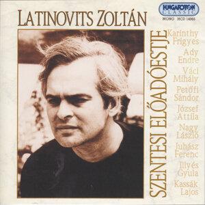 Latinovits Zoltán szentesi előadóestje
