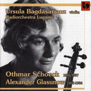 Schoeck: Violin Concerto, Op. 21 - Glasunov: Violin Concerto, Op. 82