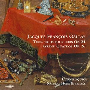 Jacques François Gallay (1795-1864). Trois trios pour cors Op. 24 - Grand Quatuor Op. 26