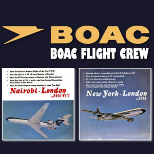 Nairobi - London by B.O.A.C Vc10 / New York - London by B.O.A.C