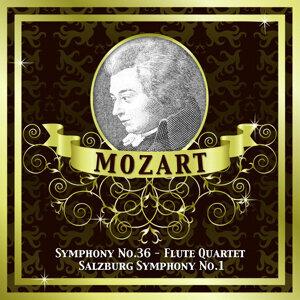 Mozart: Symphony No.36 - Flute Quartet - Salzburg Symphony No.1