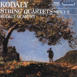 Kodály: String Quartets Nos. 1-2
