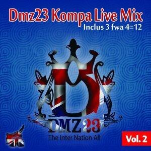 Dmz23 Kompa Live Mix, Vol. 2 - The Inter Nation All