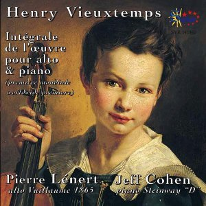 Henri Vieuxtemps: Intégrale de l'oeuvre pour alto et piano