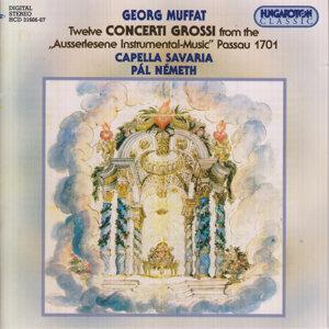"Twelve Concerto Grossi from the Ausserlesene Instrumental-Music"" Passau 1701"