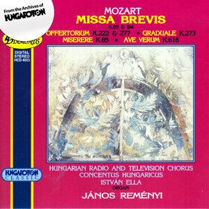 Missa Brevis K. 65 and 194, Offertorium K.222 & 277, Graduale K.273, Miserere K.85, Ave Verum K.618
