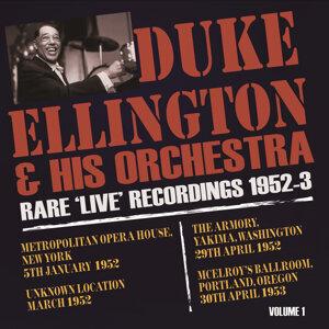 Rare Live Recordings 1952-53, Vol. 1
