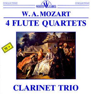 Mozart: 4 Flute Quartets - Clarinet Trio